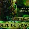 """Logo Raquel Salvatore presenta su libro """"Golpe de Gracia"""""""
