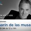 Logo Camarín de las Musas - Idea y conducción: Gabriel SenaneS - 24/10/2020