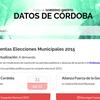 Logo Cristian Perez sobre la rendición de cuentas de las elecciones municipales 2015