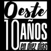 Logo Graciela Camino nos invita a los festejos de los 10 años de Oeste Usina Cultural