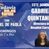 Logo Entrevista a Gabriela Quintanilla - Directora del Hospital Carrasco