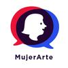 Logo Mujerarte. Mujeres en pie de igualdad
