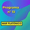 Logo MAR PLATÓNICO - programa 13
