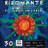 """Logo Victor Hugo invita a la presentación de """"El Juego Universal""""de RIZOMANTE"""
