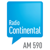 Logo Entrevista a Kitty Sanders en La Noche Continental en AM Radio Continental 590