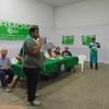 Logo Conversamos con Diego Jara de ATE Verde y Blanca de la provincia de  Formosa