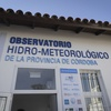 Logo El Ing. Hidráulico Andrés Rodriguez, Dir. del Observatorio Hidrometereológico de Córdoba