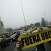 "Logo ""Buscamos desalentar el desembarco de empresas buitres como UBER"""