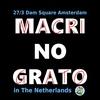 Logo Escrache a Macri en Holanda