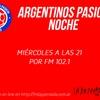 Logo Charla de Argentinos Pasión con Alejandro Fabbri