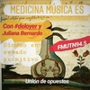 """Logo Medicina música es """"Unión de opuestos"""""""