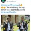 Logo Editorial : Hernan Castillo da a Ramon Diaz como técnico de Racing
