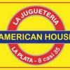 """Logo > """"En #Juguetería #AmericanHouse no remarcamos #Precios aunque los proveedores no están entregando"""""""
