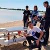 Logo Estudiantes de Entre Ríos crearon un dron para medir la contaminación del agua