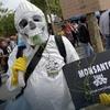 Logo Monsanto, un negocio mortal disfrazado de responsabilidad social empresarial @llevalopuesto