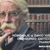 Logo Homenaje a David Viñas en Marca de Radio