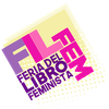 Logo Feria internacional del libro feminista en la Ciudad de Buenos Aires