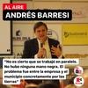"""Logo Andres Barresi - """"Hay pruebas concretas de que se trabajó para que la empresa se quede en Roca"""""""