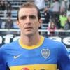 Logo Leandro Somoza, ex-futbolista argentino que jugaba de mediocampista, en Castillo de Cartas