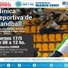 Logo  #DeporteUniversitario  | Clínica Deportiva de handball en la UNPAZ |