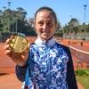 """logo Nadia Podoroska: """"Hay que crear conciencia de que el tenis femenino en Argentina, existe"""""""