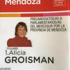 Logo Alicia Groisman candidata al ParlaSur por #CambiemosMendoza