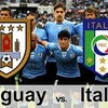 Logo Kesman,Uruguay vs Italia,7/6/17,