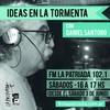 """Logo IDEAS EN LA TORMENTA con Daniel Santoro - """"Humor y política"""""""
