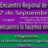 Logo  1º Encuentro Regional de Mujeres de Zona Sur, vamos a charlar