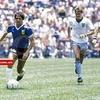 """Logo Gringo Giusti: """"Verlo jugar a Maradona todos los días fue un privilegio que la vida me dio"""""""