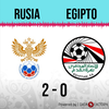 Logo Gol de Rusia: Rusia 2 - Egipto 0 - Relato de @rotananet