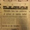 """Logo 23 de octubre, 1978. Echan a patadas a Mercedes Sosa de La Plata por """"pudrirle la cabeza a la gente"""""""
