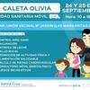 Logo Unidad sanitaria móvil en Caleta Olivia