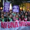 Logo Á 5 años de la primer marcha de Ni una Menos