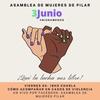 """Logo Melina Foster, integrante de la Asamblea de Mujeres de Pilar, """"seguimos acompañando a la mujeres"""""""