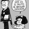 Logo Quino cumpleaños  ¿…y como nació Mafalda?