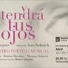 """Logo   """"Y TENDRÁ TUS OJOS"""" de Pepe Vázquez con dirección de Iván Solarich."""