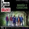 """Logo Victor Hugo invita a """"La Canción es Urgente: María y Cosecha"""""""