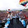 Logo Karina Micheletto cuenta como fue el regreso de Evo Morales