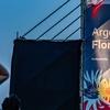 """Logo """"Argentina florece"""" el programa que busca impulsar la actividad artística en el país"""
