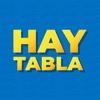 Logo Hombre Pie en Hay Tabla