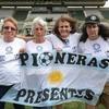 Logo La Zurda Mágica-Entrevista a Lucila Sandoval de Las Pioneras del fútbol femenino argentino