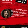 Logo Victoria Tesoriero subsecretaría de asuntos políticos