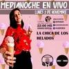 Logo Medianoche en vivo - Entrevista a La chica de los helados