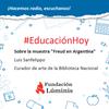 """Logo La Biblioteca Nacional realiza la muestra """"Freud en Argentina"""" hasta fin de año"""