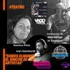 """Logo Romina Pinto e Iván Steinhardt en """"Somos el mundo, el rincón de los artistas"""" Radio El mundo"""