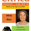 Logo Alicia Ricci narra en la Naranja Cítrica