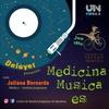 """Logo Medicina música es """"La felicidad, un ejercicio diario"""""""