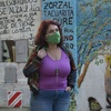 Logo Laura Velasco sobre la necesidad de reabrir al uso público el Parque Agronomía