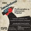 """Logo """"Formar docentes populares con compromiso social"""", Alicia Saracco de ISFD IMPA"""